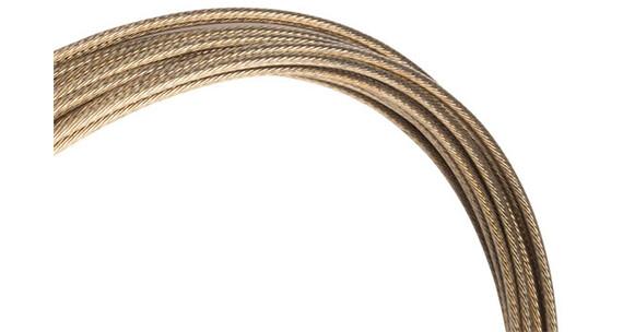 Jagwire Pro Slick Linka hamulcowa Linka przerzutki 2300 mm złoty/srebrny